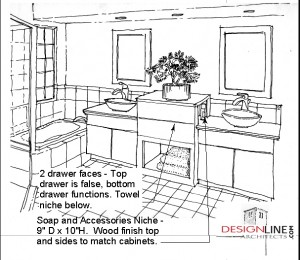Remodel Bathroom Permit remodel | design line architects
