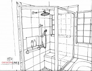 Universal Design Bathroom Floor Plans on New Home Remodel Architect Designer Schottsdale